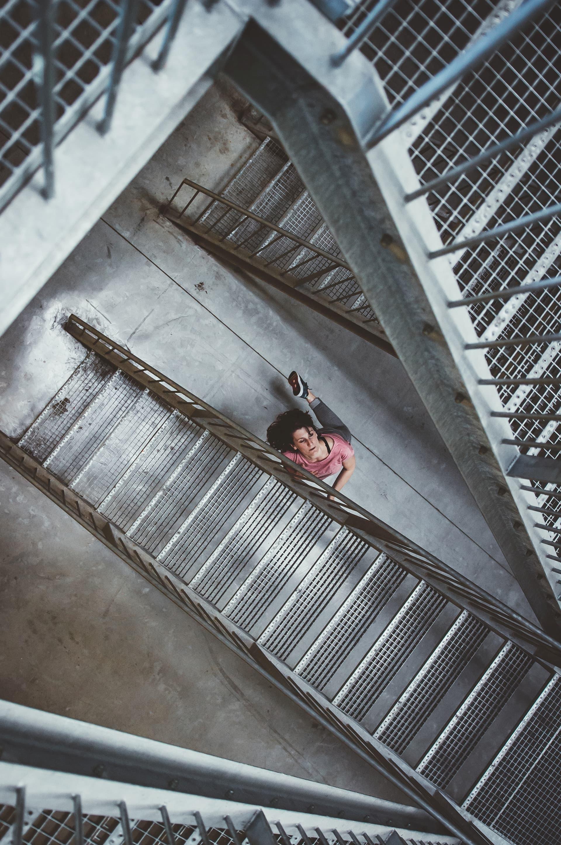 Tussen trappen Fotoshoot Kim